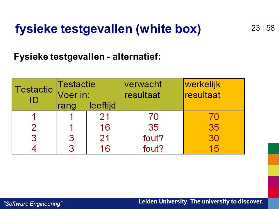 fysieke testgevallen (white box)