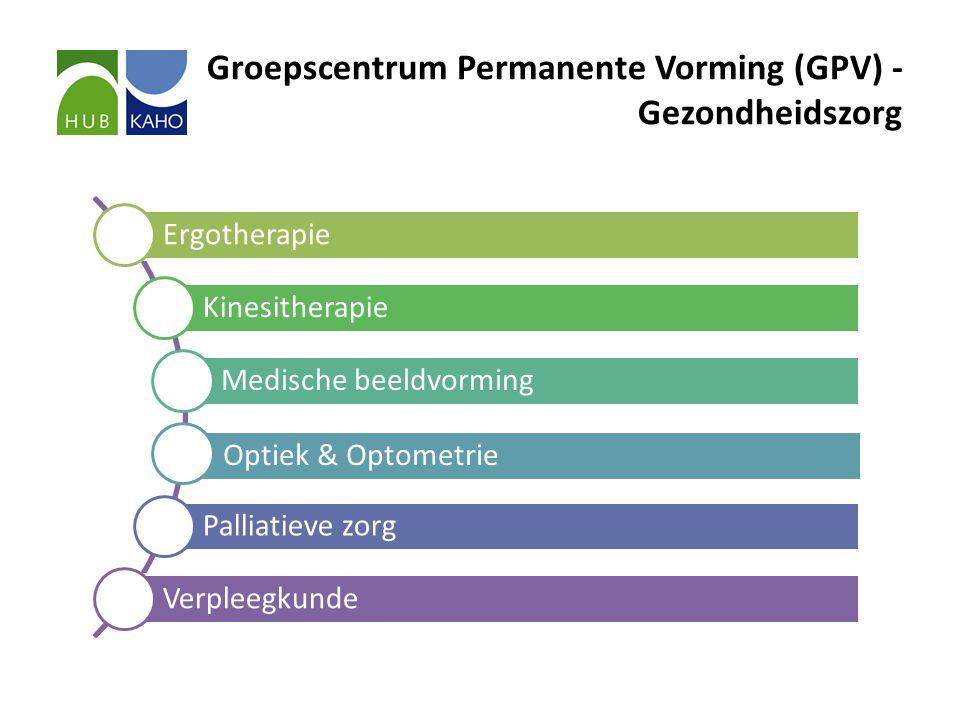 Groepscentrum Permanente Vorming (GPV) - Gezondheidszorg