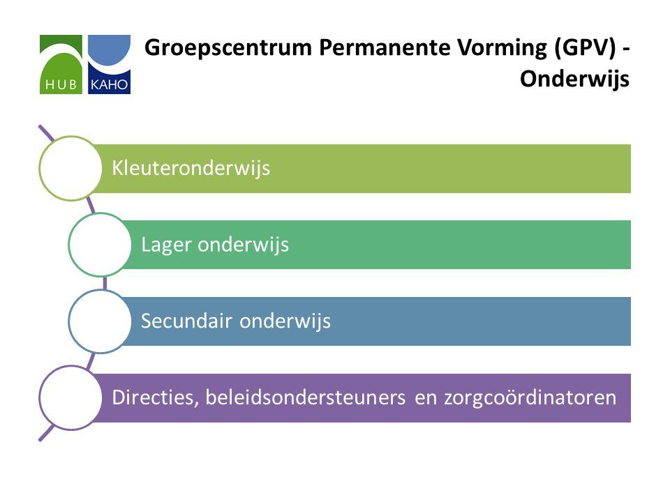 Groepscentrum Permanente Vorming (GPV) - Onderwijs