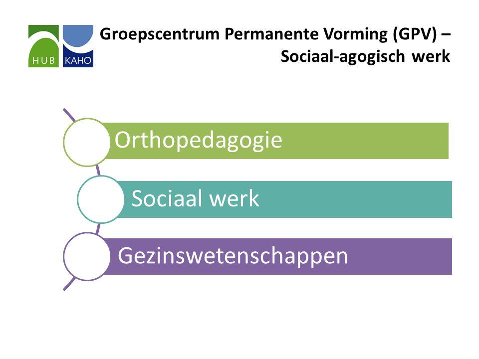Groepscentrum Permanente Vorming (GPV) – Sociaal-agogisch werk