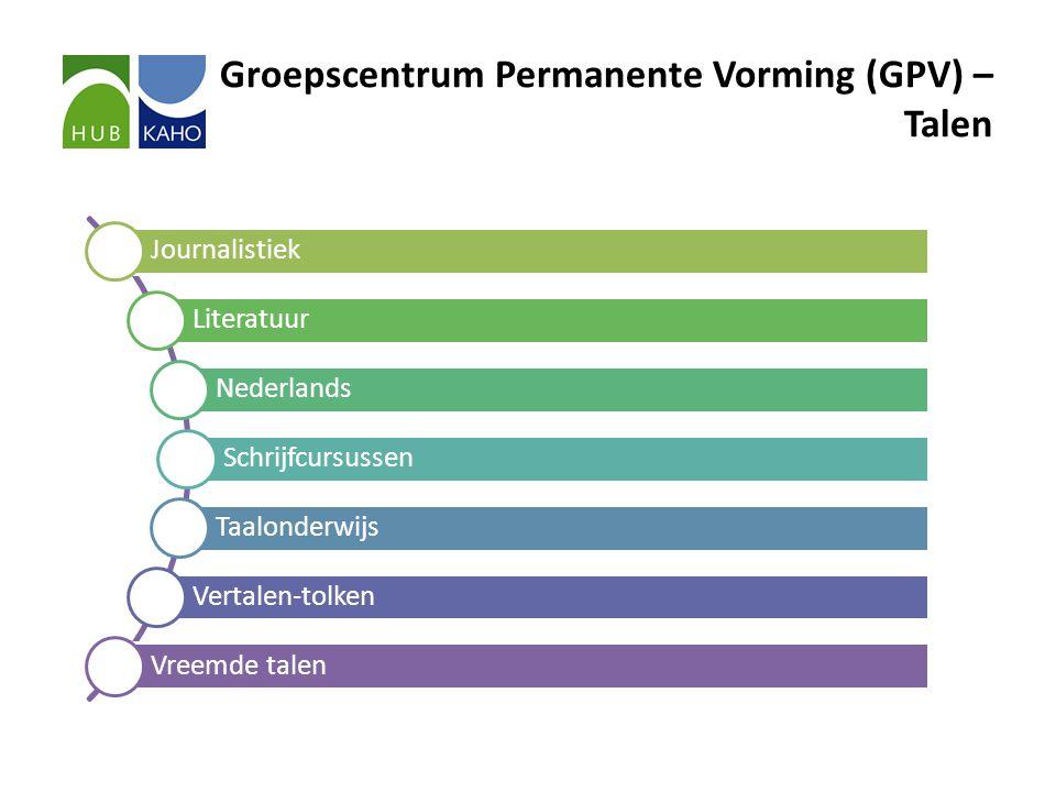 Groepscentrum Permanente Vorming (GPV) – Talen