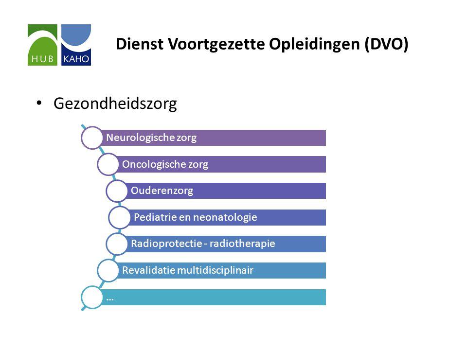 Dienst Voortgezette Opleidingen (DVO)
