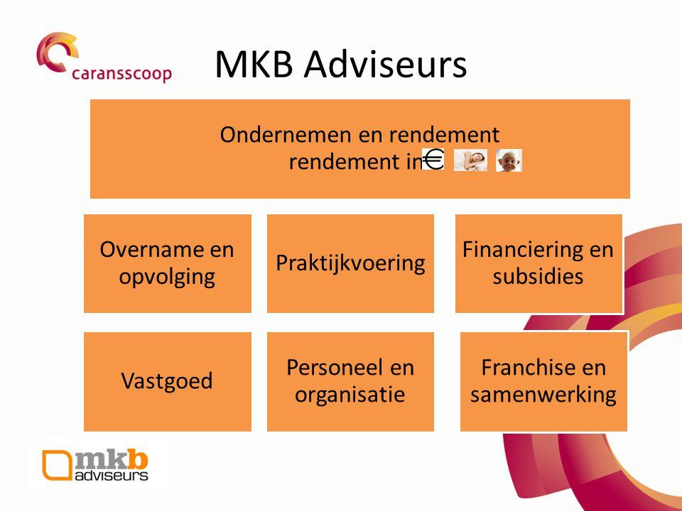 MKB Adviseurs Overname en opvolging Praktijkvoering
