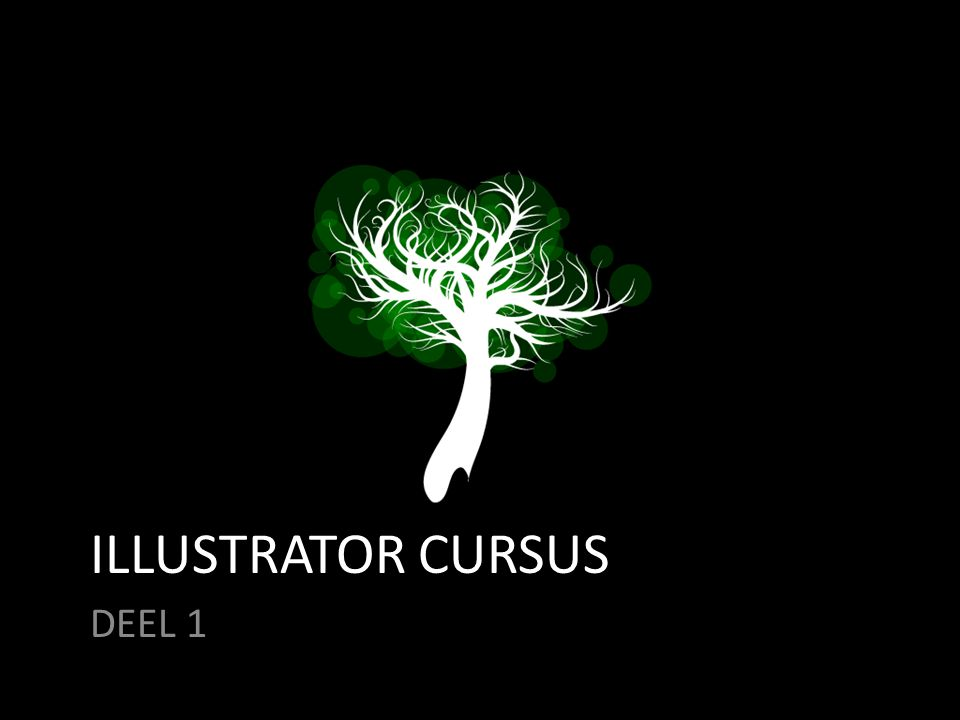 ILLUSTRATOR CURSUS DEEL 1