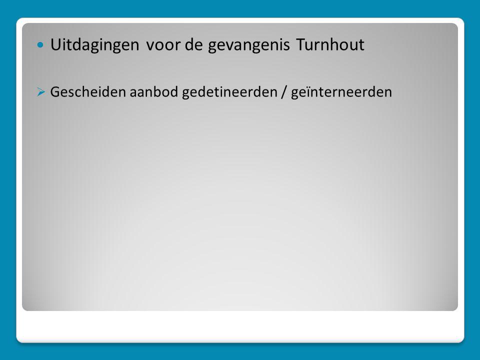 Uitdagingen voor de gevangenis Turnhout