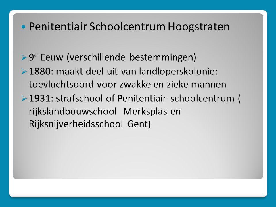 Penitentiair Schoolcentrum Hoogstraten