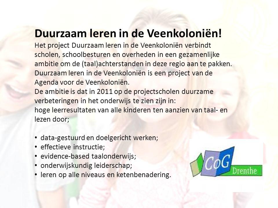 Duurzaam leren in de Veenkoloniën!