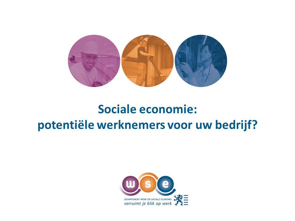 Sociale economie: potentiële werknemers voor uw bedrijf