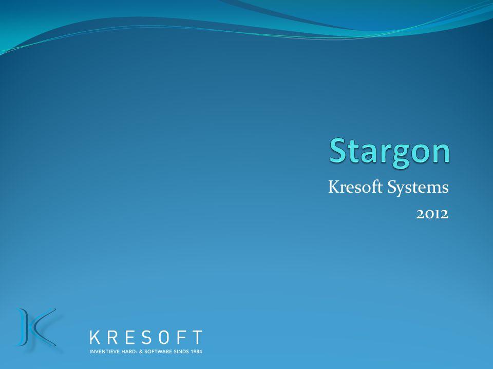 Stargon Kresoft Systems 2012