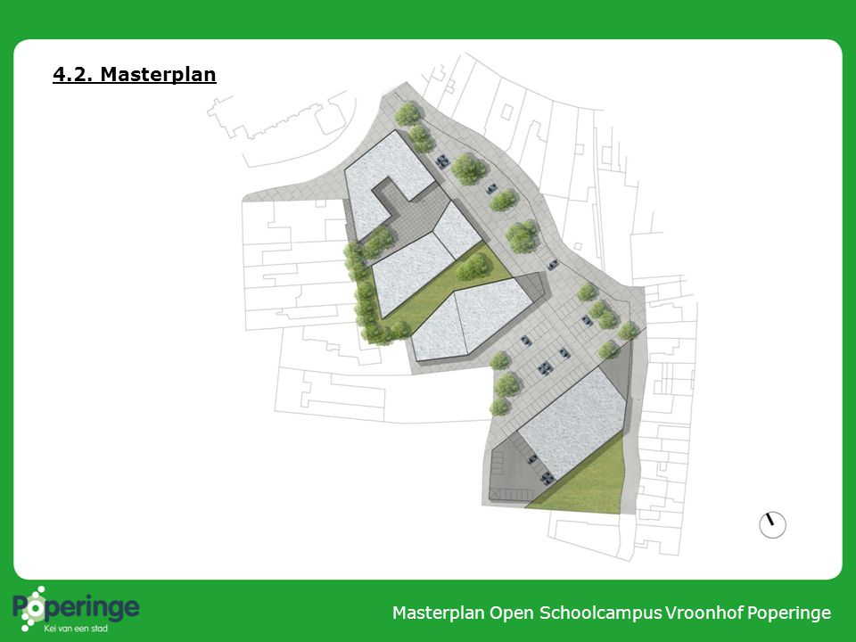 4.2. Masterplan Masterplan Open Schoolcampus Vroonhof Poperinge
