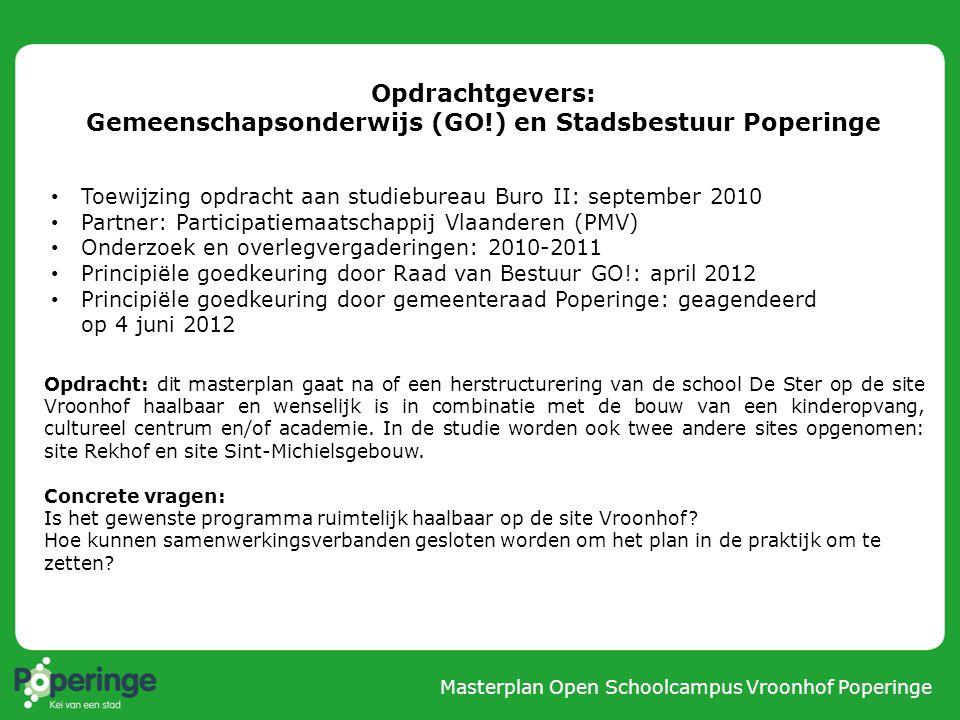 Gemeenschapsonderwijs (GO!) en Stadsbestuur Poperinge