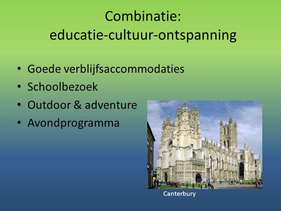 Combinatie: educatie-cultuur-ontspanning