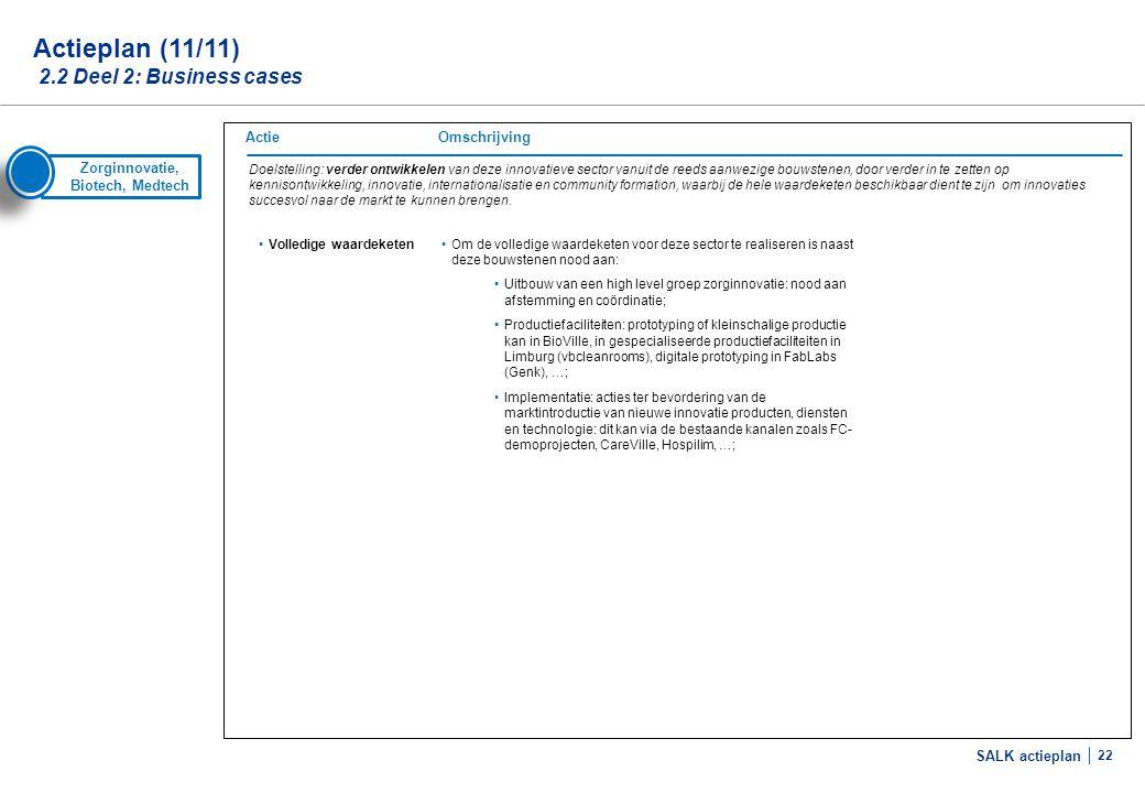 Actieplan (1/8) 2.3 Deel 3: Maatregelen die inspelen op de randvoorwaarden