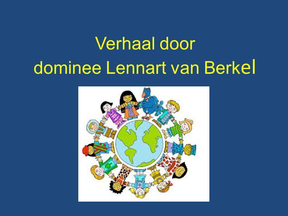 dominee Lennart van Berkel