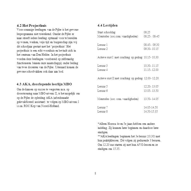 4.3 AKA, doorlopende leerlijn MBO