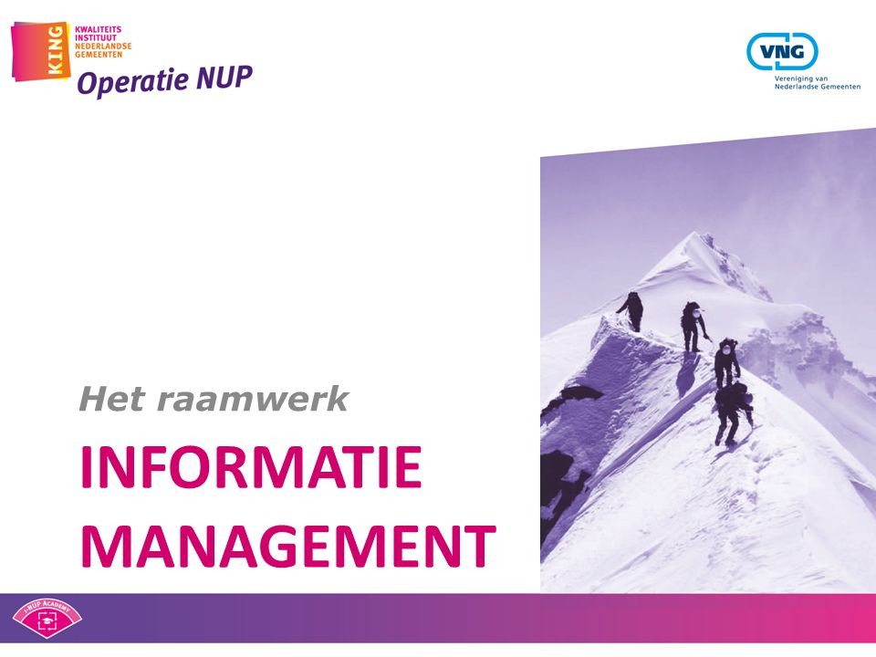 Informatie management