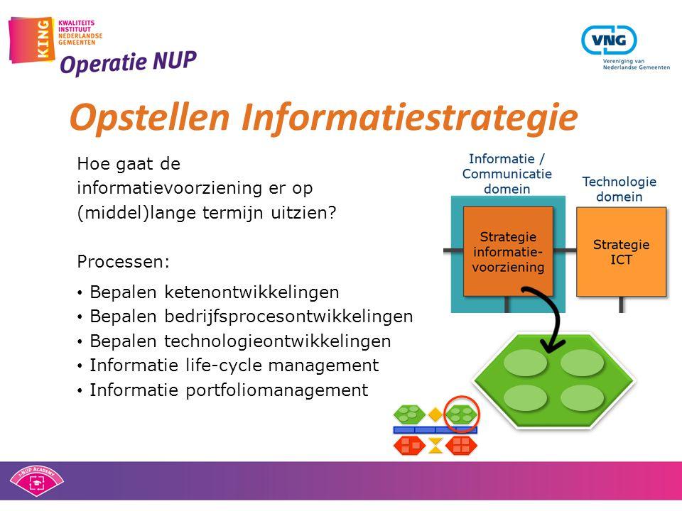 Opstellen Informatiestrategie