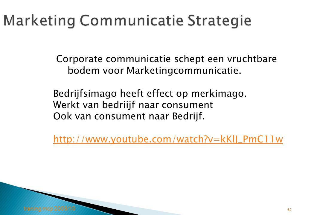 Marketing Communicatie Strategie