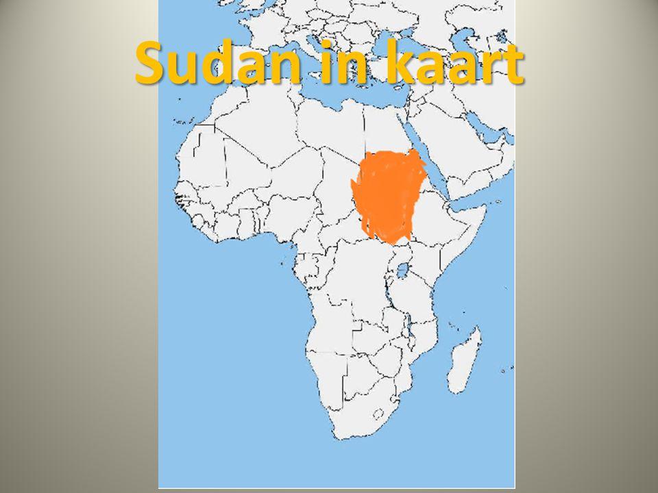 Sudan in kaart