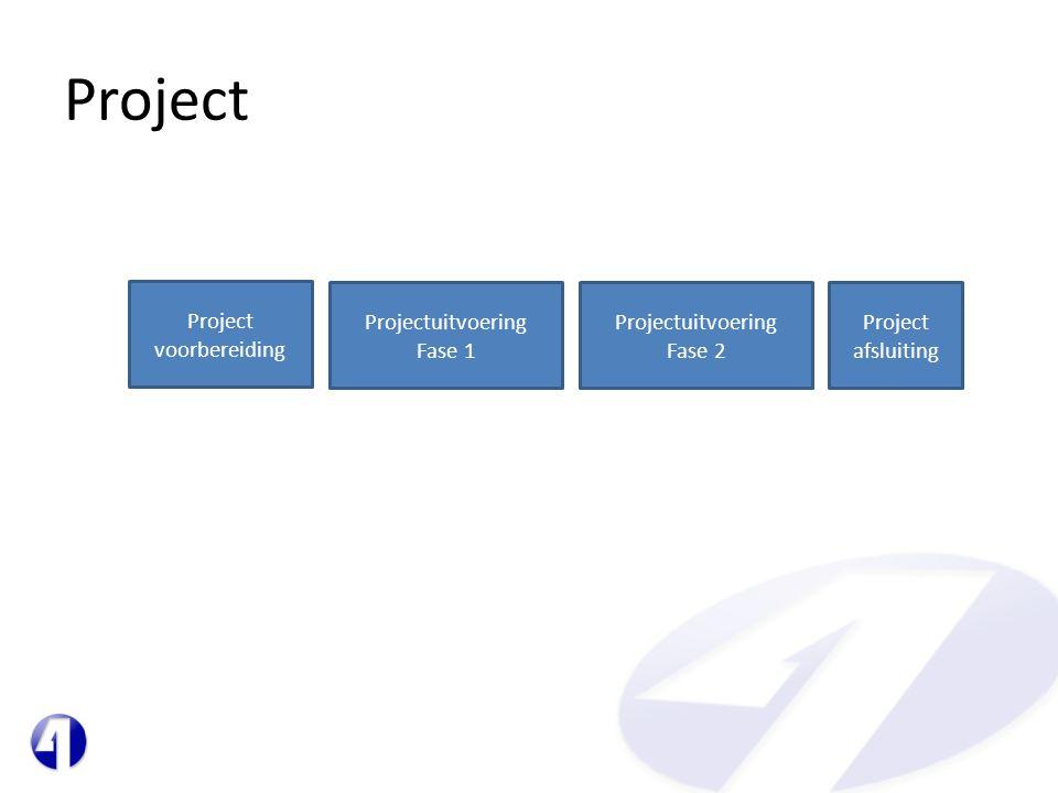 Project voorbereiding