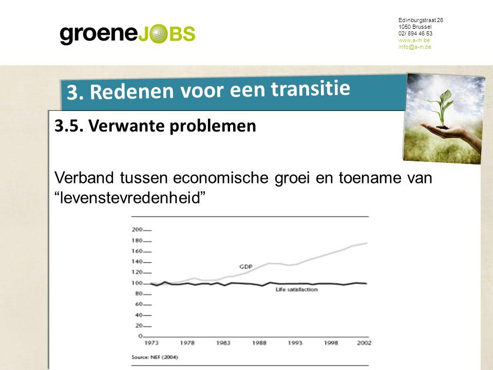 Verband tussen economische groei en toename van levenstevredenheid