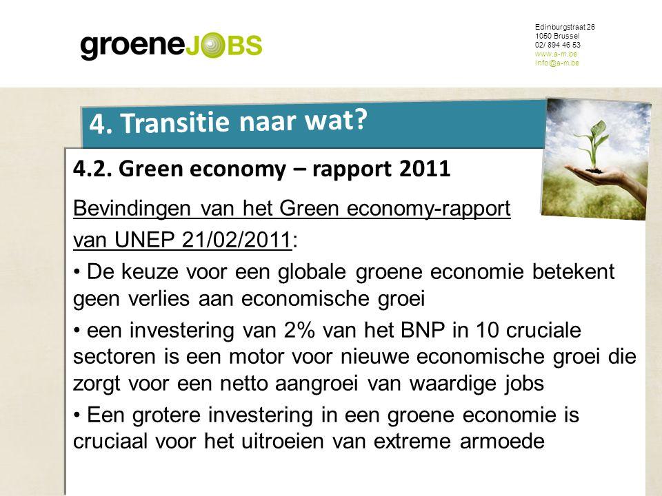 4.2. Green economy – rapport 2011