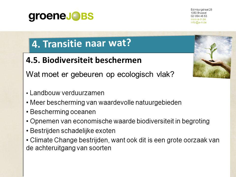 4.5. Biodiversiteit beschermen