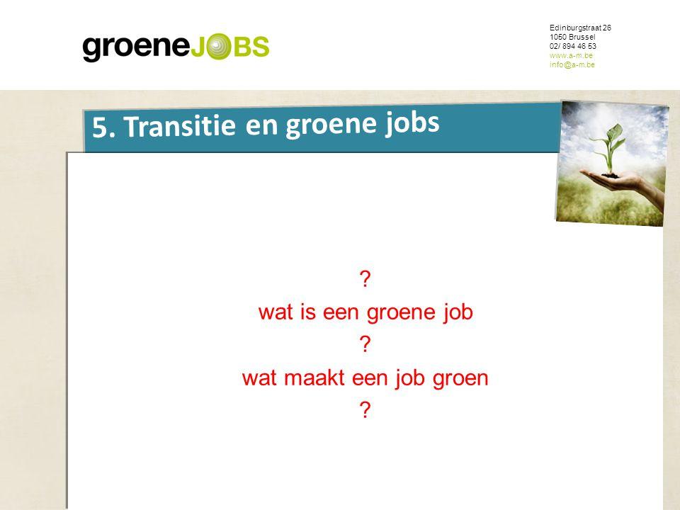 wat is een groene job wat maakt een job groen