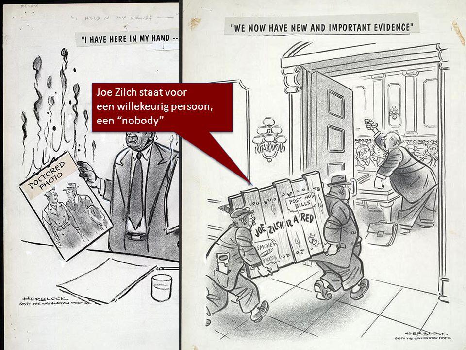 Wat zeggen deze cartoons over de bewijsvoering van McCarthy