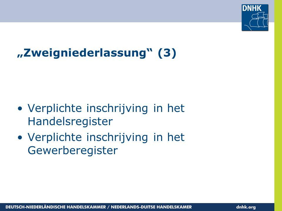 """""""Zweigniederlassung (3)"""