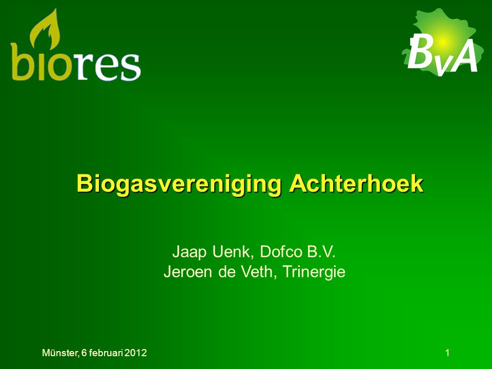 Biogasvereniging Achterhoek