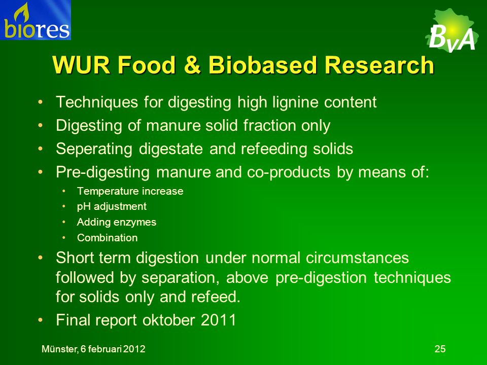 WUR Food & Biobased Research