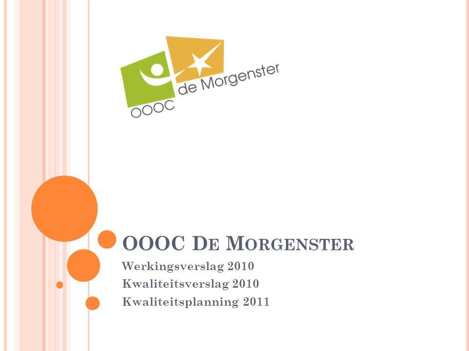 Werkingsverslag 2010 Kwaliteitsverslag 2010 Kwaliteitsplanning 2011
