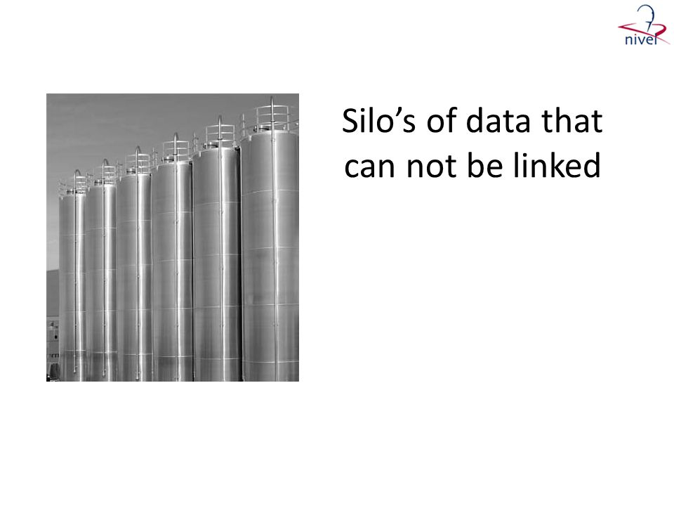 Silo's of data that can not be linked