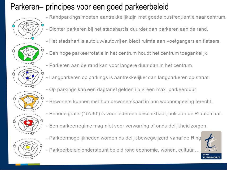 Parkeren– principes voor een goed parkeerbeleid