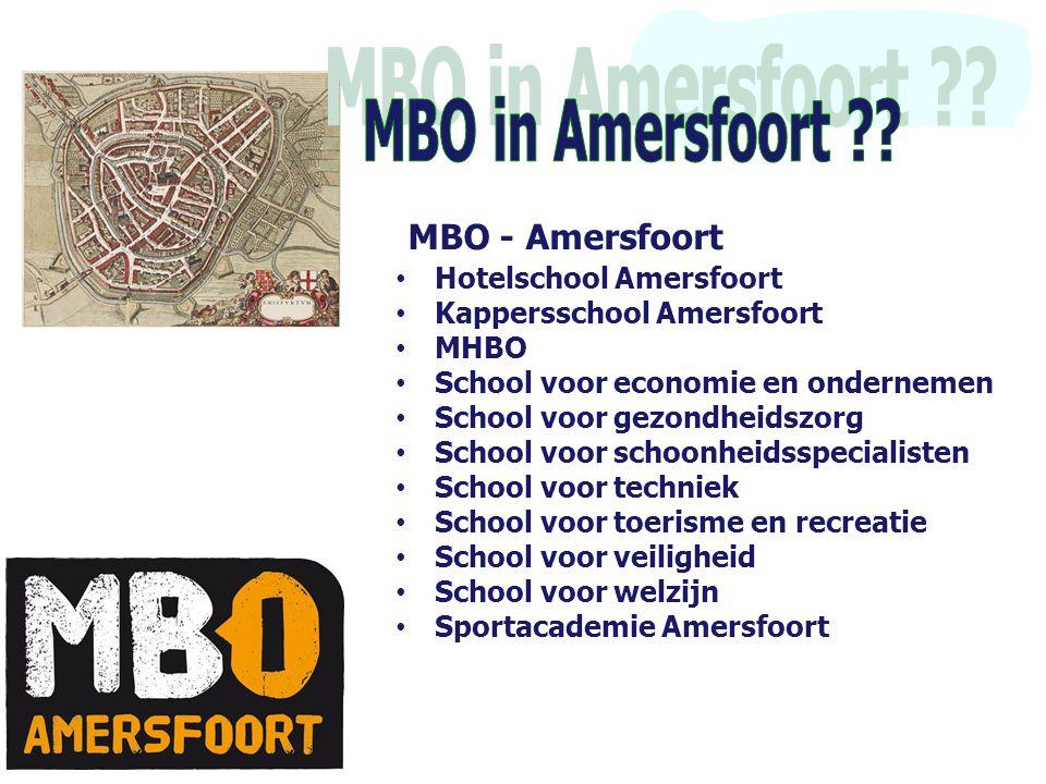 MBO in Amersfoort MBO - Amersfoort Hotelschool Amersfoort