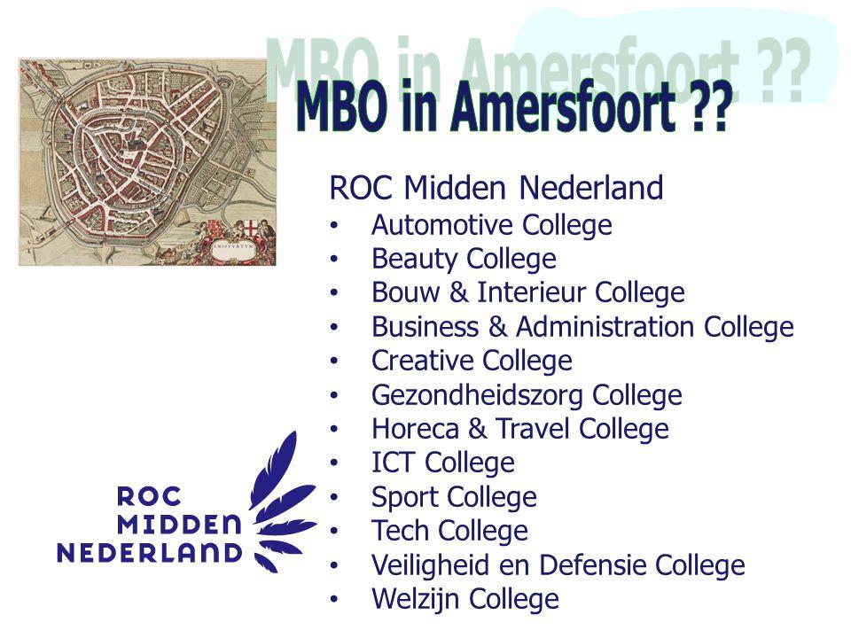 MBO in Amersfoort ROC Midden Nederland Automotive College
