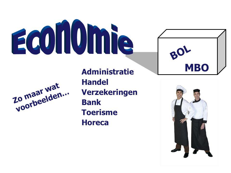 Economie BOL MBO Administratie Handel Verzekeringen