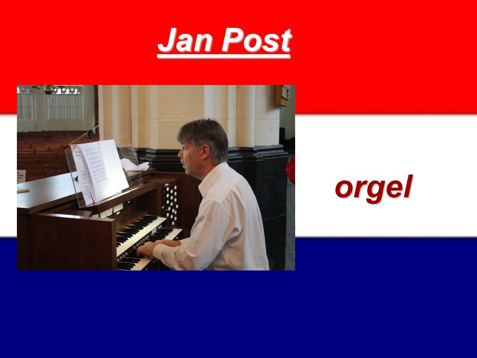 Jan Post orgel