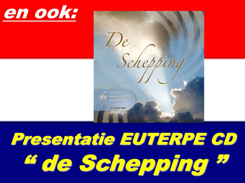 Presentatie EUTERPE CD de Schepping