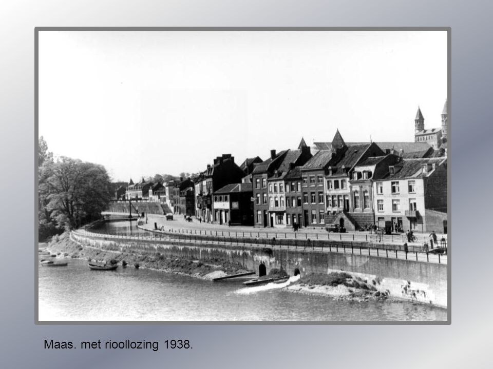 Maas. met rioollozing 1938.