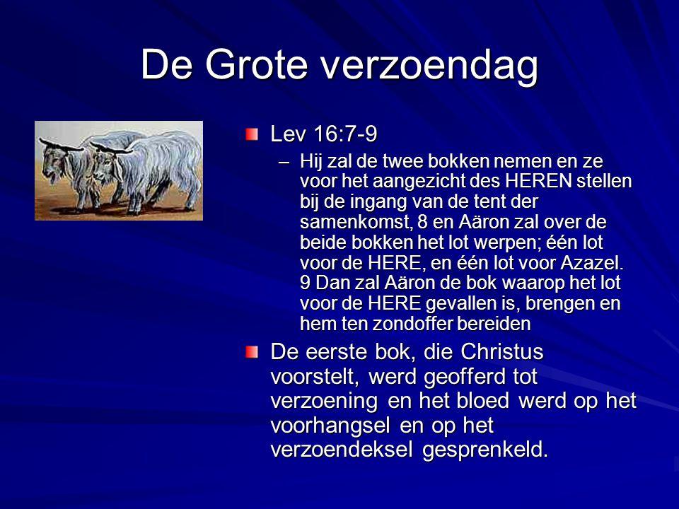De Grote verzoendag Lev 16:7-9