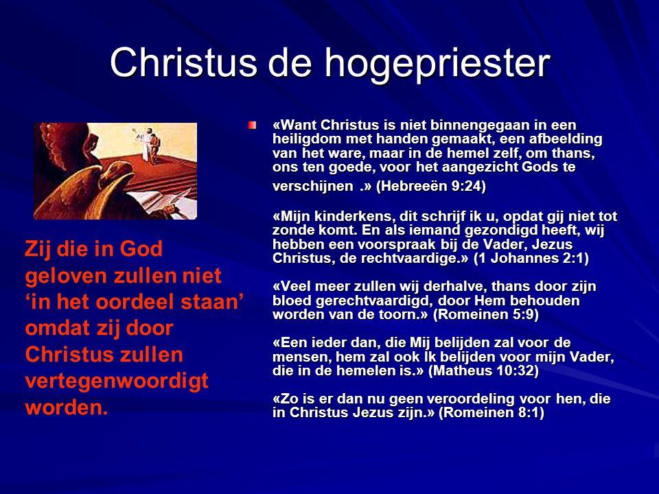 Christus de hogepriester