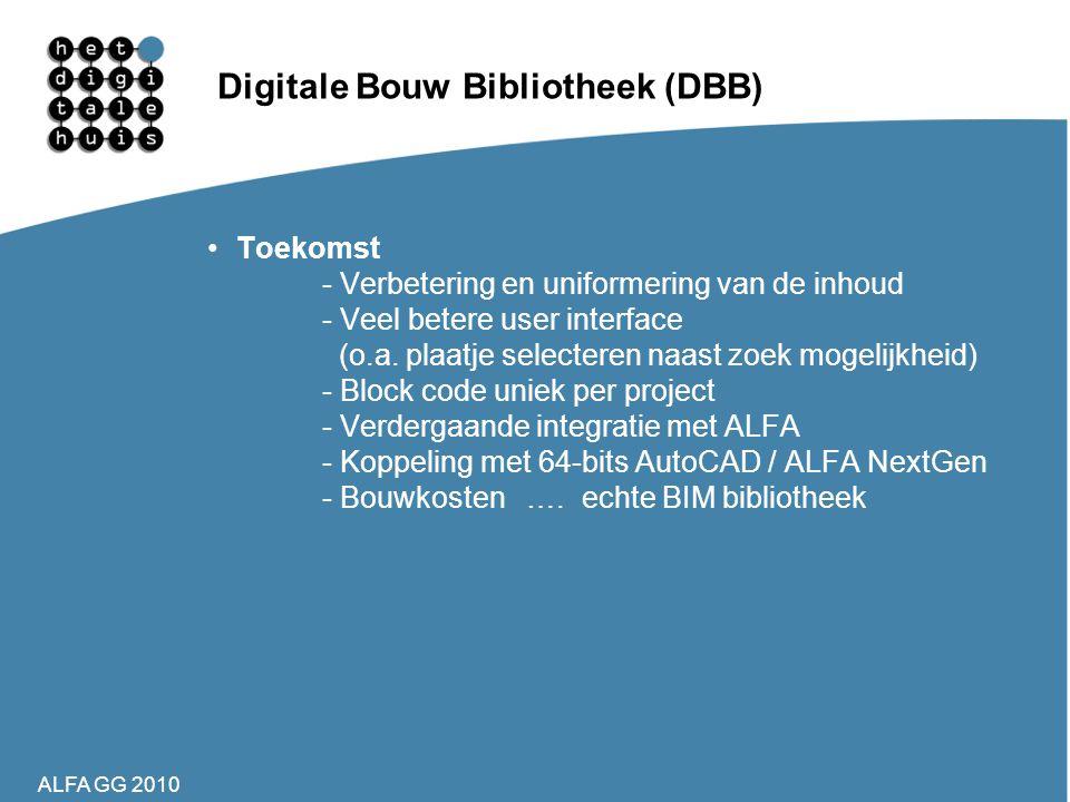 Digitale Bouw Bibliotheek (DBB)