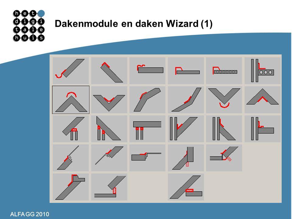Dakenmodule en daken Wizard (1)