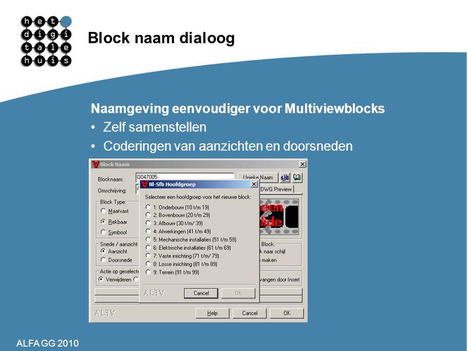 Block naam dialoog Naamgeving eenvoudiger voor Multiviewblocks