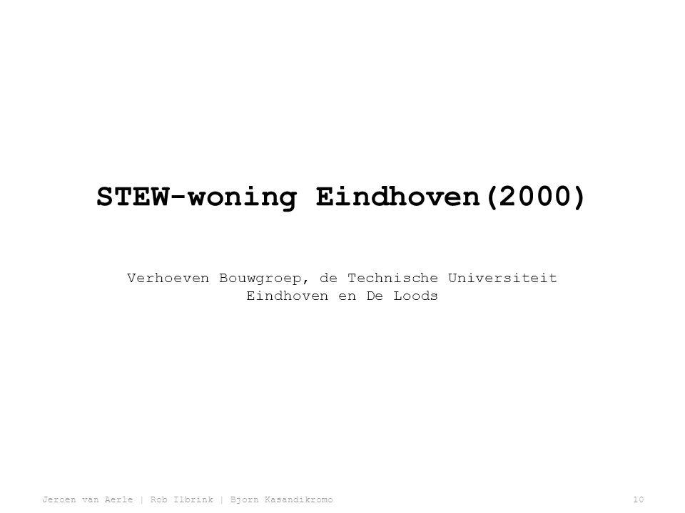 STEW-woning Eindhoven(2000)