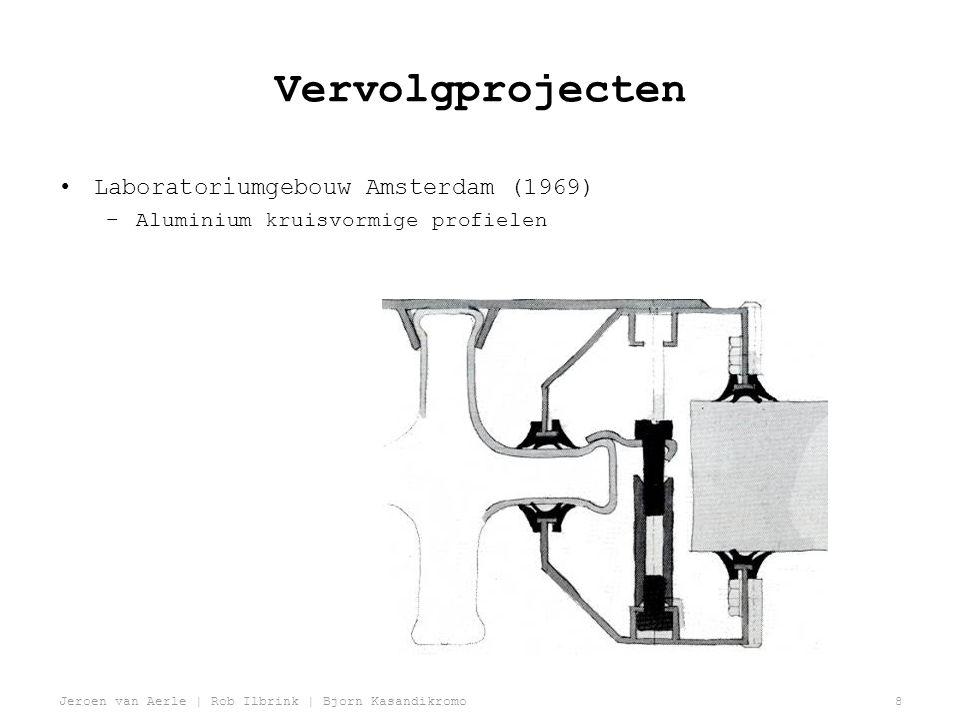 Vervolgprojecten Laboratoriumgebouw Amsterdam (1969)