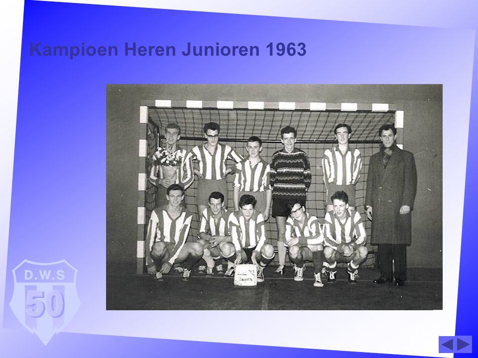 Kampioen Heren Junioren 1963