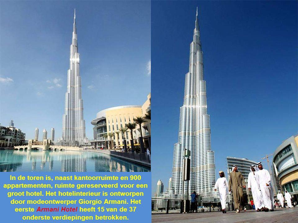 In de toren is, naast kantoorruimte en 900 appartementen, ruimte gereserveerd voor een groot hotel.